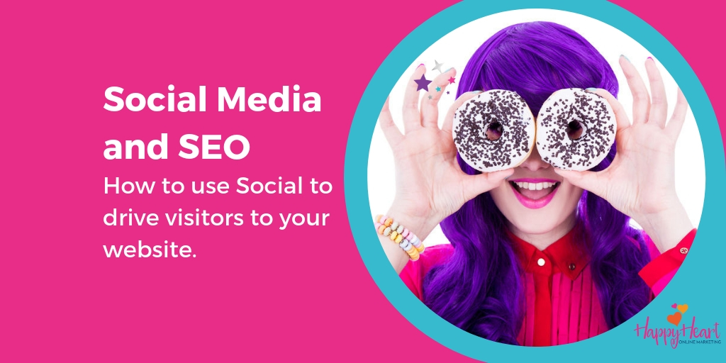 Social media and SEO ? – how to use social to drive traffic to your website