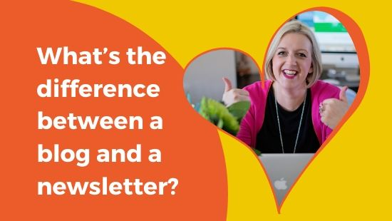 What's the difference between a blog and a newsletter?