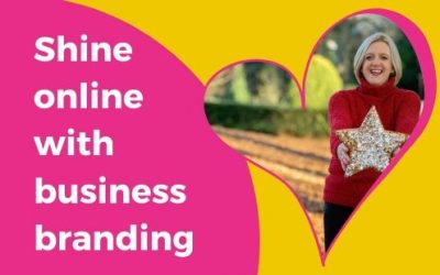 Shine online with your business branding