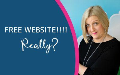 Free Website? Really?