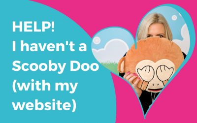 Website Help! I haven't a Scooby Doo what to do!