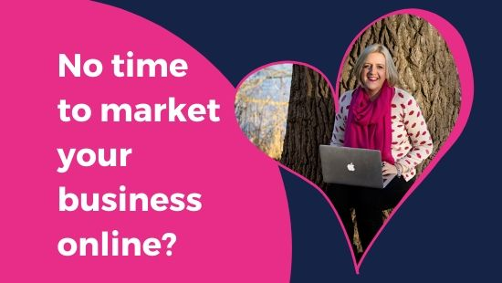 No time to market your business online?