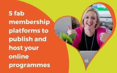 5 FAB membership platforms to publish and host your online programmes