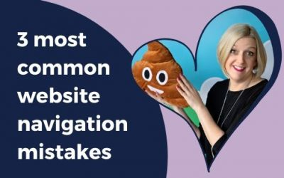 3 MOST COMMON website navigation mistakes and how to avoid them