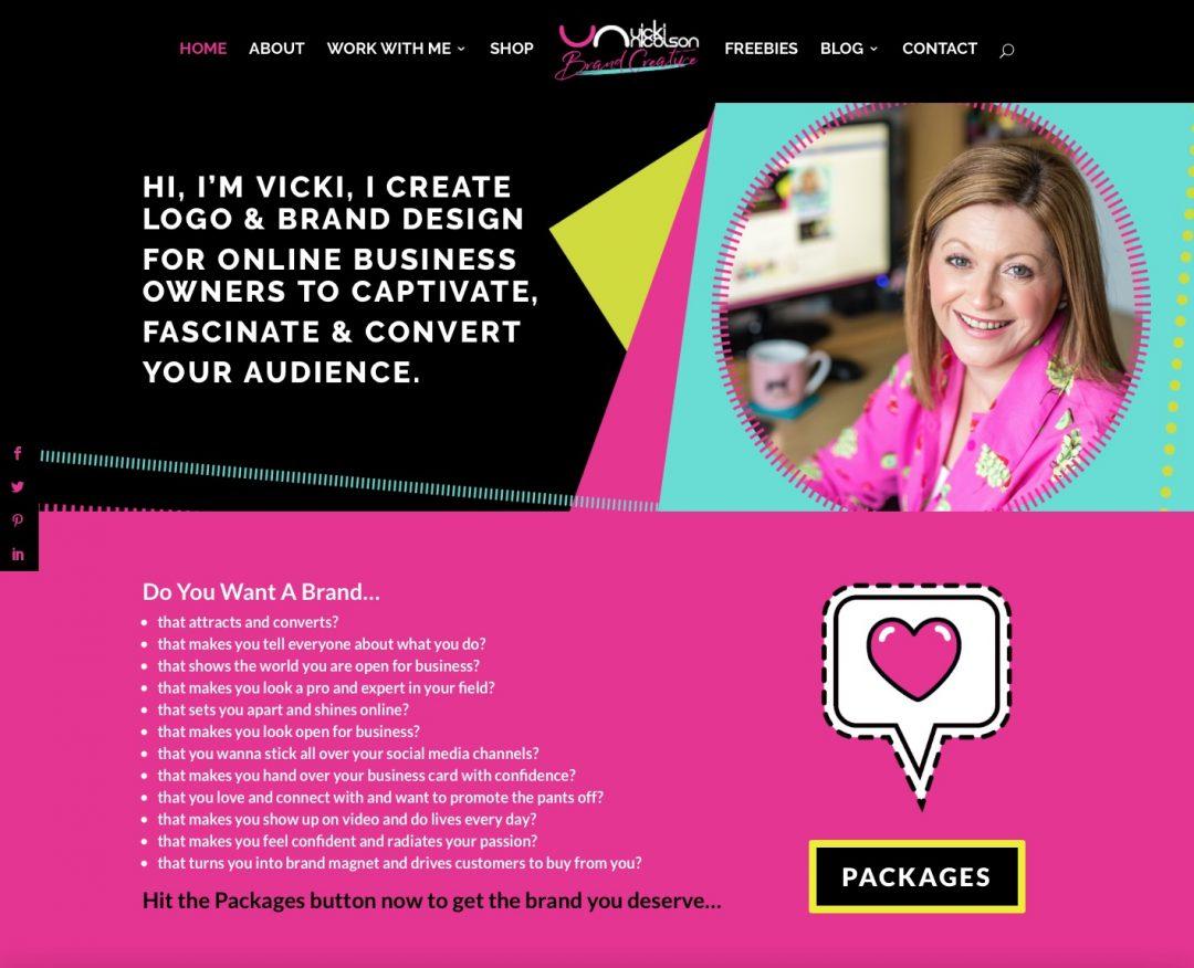 Vicki Nicolson Brand Creative