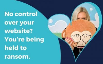No control over your website? You're being held to ransom.