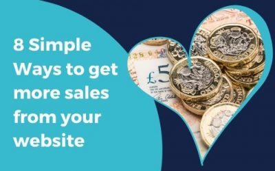 8 SIMPLE WAYS to get more sales from your website